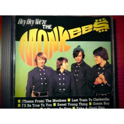 "The Monkees ‎""Hey Hey We're The Monkees"" CD"