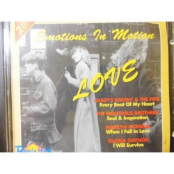 "Emotions In Motion ""Love"" 2XCD"