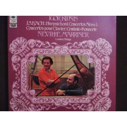 Igor Kipnis, The London Strings, Neville Marriner‎–Bach 3XLP Box Set