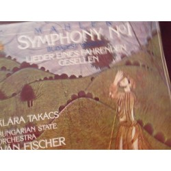 "Gustav Mahler ""Symphony Nr. 1in D Major"" 2xLP"