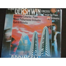 "George Gershwin ""Concerto in F major for Piano and Orchestra"" LP"