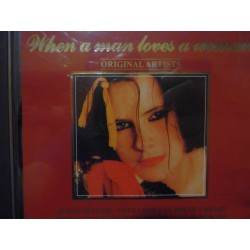 "Various ‎""When A Man Loves A Woman"" CD"