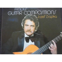 "Jozef Zsapka ‎""Famous Guitar Compositions"" LP"