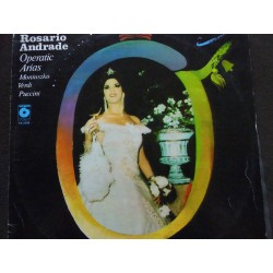 "Rosario Andrade ‎""Arie Operowe / Operetic Arias"" LP"