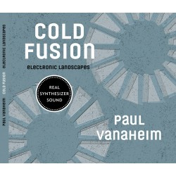 "Paul Vanaheim ""Cold Fusion - Electronic Landscapes"" CD Dig."