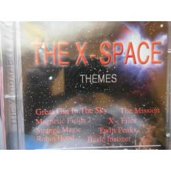 "Synthesizers Images Orchestra ‎""The X-Space Themes"" CD"