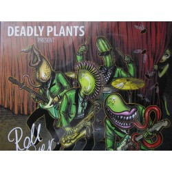 "Deadly Plants ""Roll Over!"" CD, Dig."