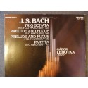 "J.S. Bach ""Sonata Flat Major Bwv 525"" LP"