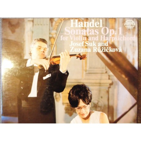 "George Frideric Handel ""Sonatas For Violin And Harpischord"" 2xLP"