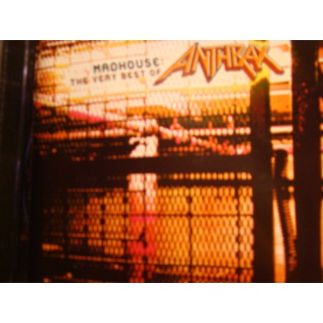 "Anthrax ‎""Madhouse: The Very Best Of Anthrax"" CD"