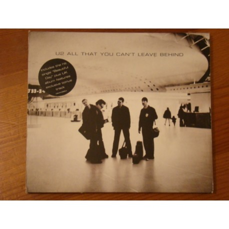 "U2 ‎""All That You Can't Leave Behind"" CD"