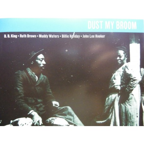 "B.B.King, Ruth Brown, Muddy Waters ‎""Dust My Broom"" CD"
