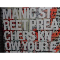 "Manic Street Preachers ""Know Your Enemy"" CD"