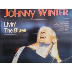 Johnny Winter ‎– Livin' The Blues CD
