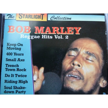 "Bob Marley ""Reggae Hits Vol. 2"" CD"