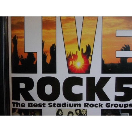 "Live Rock5 ""Various Artists"" CD"