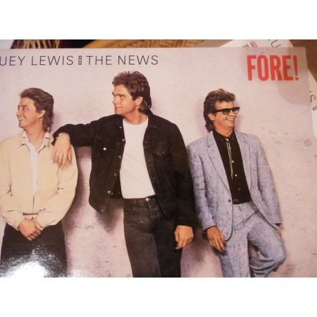 Huey Lewis And The News ‎– Fore! LP