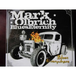Mark Olbrich BluesEnternity ‎– Blues Everywhere CD, Dig.