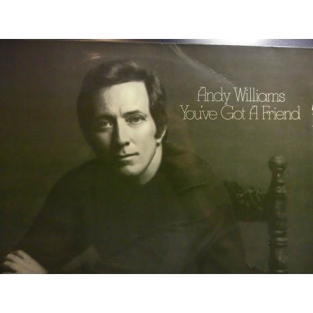 Andy Williams ‎– You've Got A Friend LP