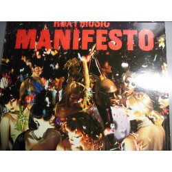 "Roxy Music ""Manifesto"" LP"