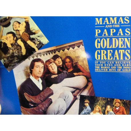 The Mamas And The Papas - Golden Greats CD