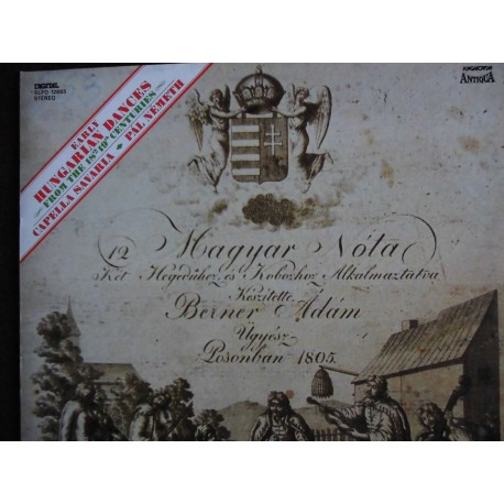 "Capella Savaria ""Early Hungarian Dances"" LP"