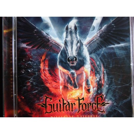 """Guitar Force """"Different Universe"""" CD"""