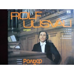 "Rolf Uusväli ""Church Organ Of The Village Of Pilistvore"" LP"