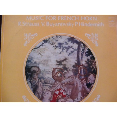 """Richard Strauss """"Music for French Horn"""" LP"""