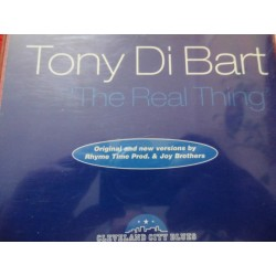 "Tony Di Bart ""The Real Thing"" CD"