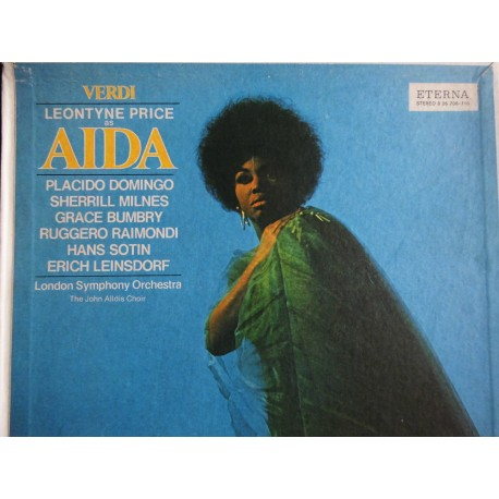"Giuseppe Verdi With Leontyne Price ""Aida"" 3XLP, Box"