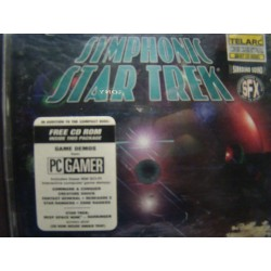 "Erich Kunzel and Cincinnati Pops Orchestra ‎""Symphonic Star Trek"" 2XCD Sci-Fi CD ROM Sample"