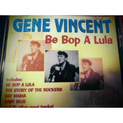 "Gene Vincent ""Be Pop A Lula"" CD"