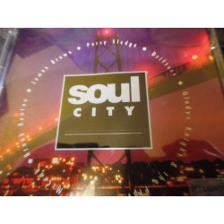"James Brown, Drifters, Dobie Gray ""Soul City"" CD"