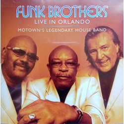 The Funk Brothers ‎– Live In Orlando CD