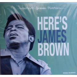 James Brown ‎– Here's James Brown CD, Slipcase