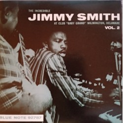 "Jimmy Smith ""Live At The Club Baby Grand, Volume 2"" CD"