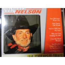 "Willie Nelson ""20 Golden Hits"" CD"