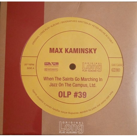 Max Kaminsky - When The Saints Go Marching In / Jazz On The Campus CD Dig.