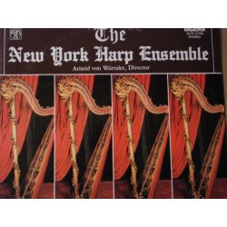 New York Harp Ensemble Directed By Aristid von Würtzler LP