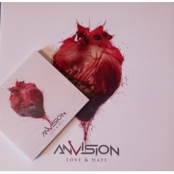 Anvision ‎– Love & Hate Zestwa: LP+CD