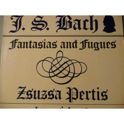 "Bach - Zsuzsa Pertis ""Fantasias And Fugues"" LP"